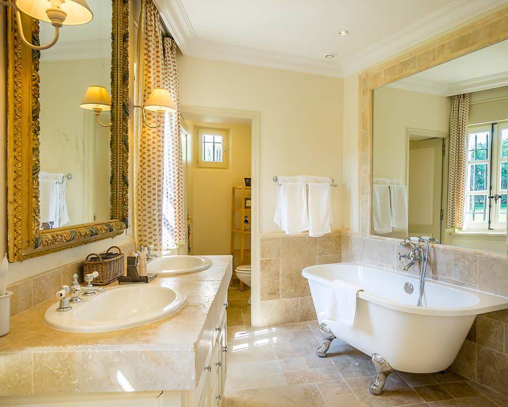 salle de bain Chateau à louer en Provence