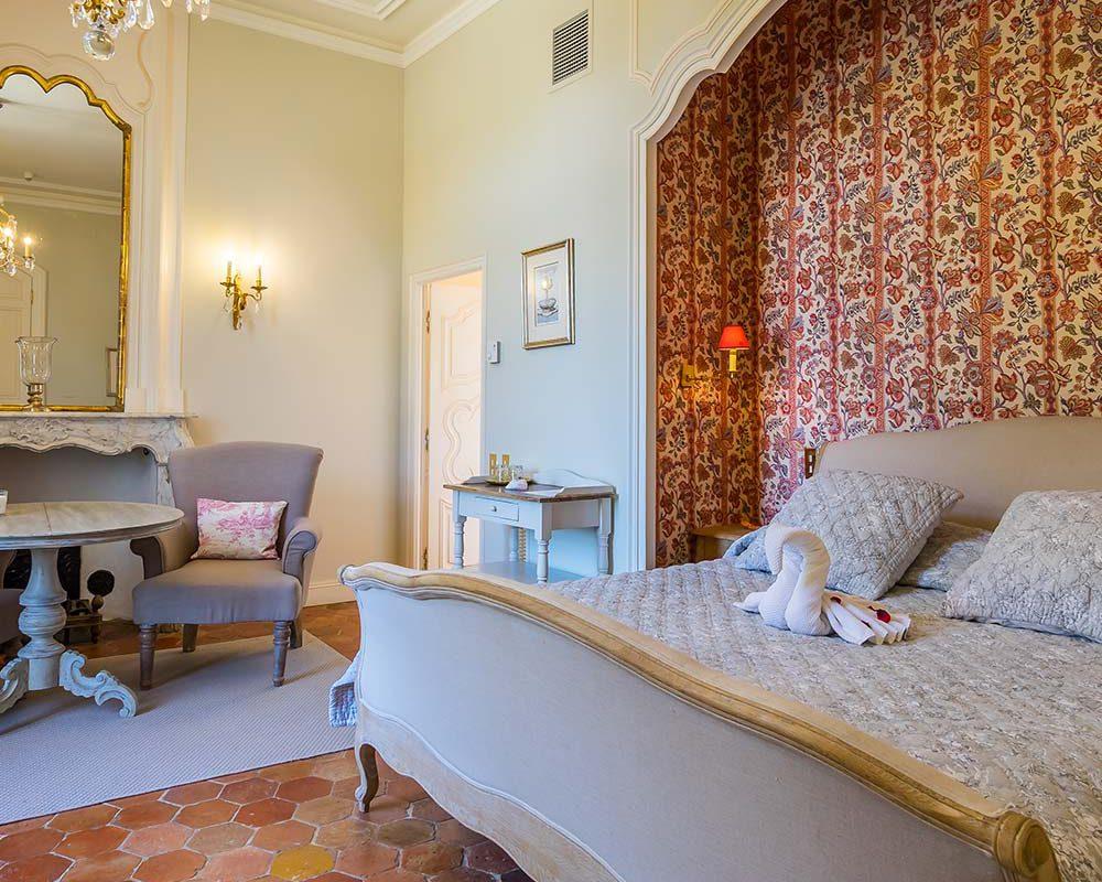 Chambre villa de luxe provence