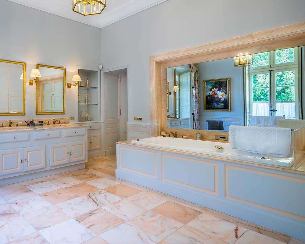 Salle de bain villa de luxe Provence